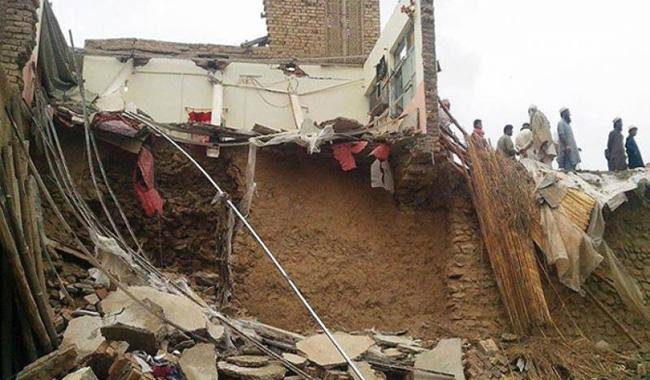 Woman among three killed in roof collapse incident in Charsadda