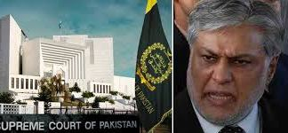 SC rejects Dar's medical certificate in Senate election eligibility case