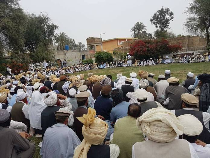NWA tribal elders assure full support to security forces for peace