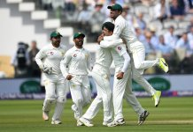 England set Pakistan 64 to win Lord's Test