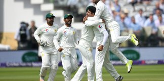 Pakistan beat England by 9 wickets to win 1st Test