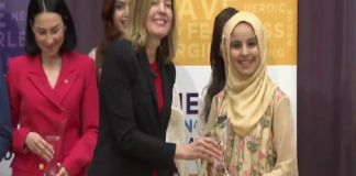 Pakistan's Dania Hassan receives 'Emerging Young Leaders Award'