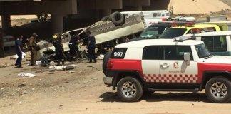 10 dead, 13 injured as pilgrim bus veers off bridge in Saudi Arabia