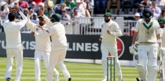 Ireland follow on after 130 all out against Pakistan