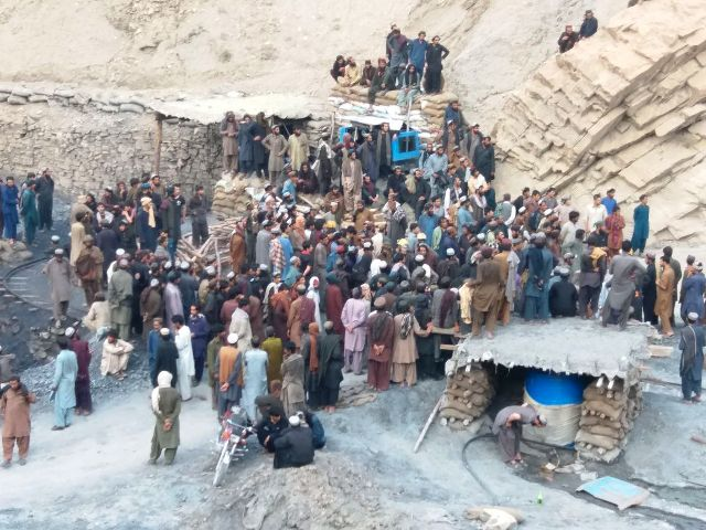 Two laborers killed in coalmine collapse in Balochistan