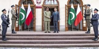 COAS meets Polish defence minister, military leadershiP