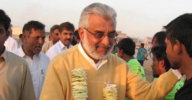 Former PML-N leader Ghulam Abbasi defects to PTI