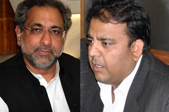 Khaqan Abbasi, Fawad Chaudhry challenge disqualification in LHC