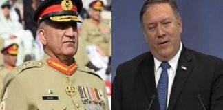 Pompeo, Bajwa discusses bilateral relations, reconciliation in Afghanistan
