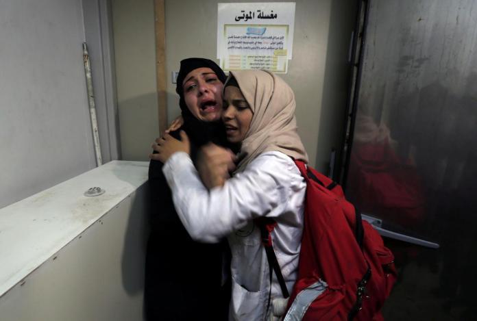 Israeli forces kill two Palestinians in Gaza border protests: Gaza medics