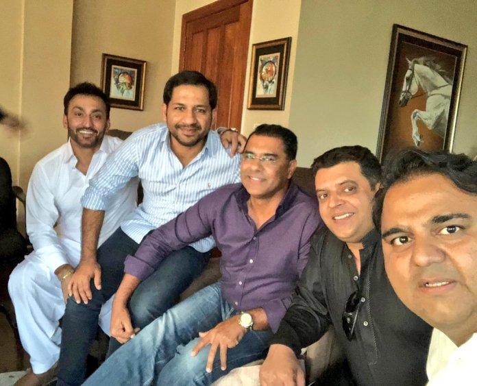 Waqar, Sarfraz, Umar Gul others visit Bani Gala