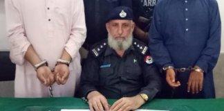 KP Police arrests two culprits involved in brutal killing of dog