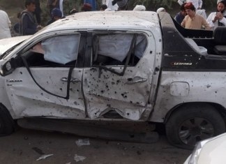 Siraja Raisani among 20 killed in Mastung blast