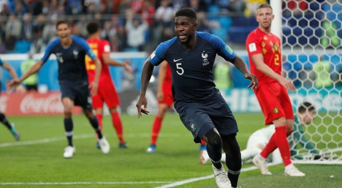 France reach World Cup final after beating Belgium 1-0