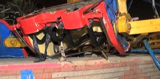 Eight-year old girls killed as joy-ride collapses in Karachi