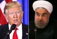 Trump warns Iran's Rouhani to avoid threatning US again
