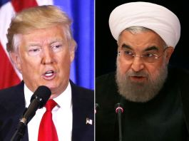 Trump warns Iran's Rouhani to avoid threatning US again