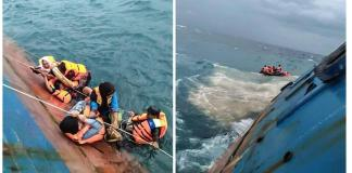 Indonesia says at least 29 dead in ferry sinking, search goes on