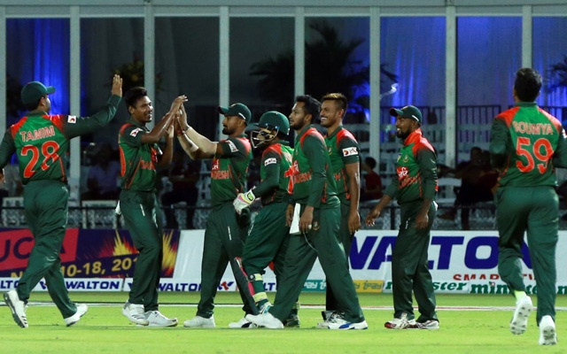 Bangladesh seal T20 series with 19-run victory over Windies