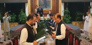 Khyber Pakhtunkhwa new cabinet sworn in
