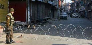 Complete shutdown in IOK against Indian repressive measures