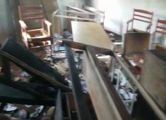 Girls primary school torched in Pishin, Balochistan
