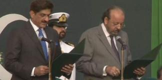 Murad Ali Shah sworn in as 33rd Sindh CM