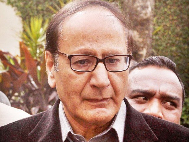 Chaudhry Shujaat Hussain appears before NAB in assets case