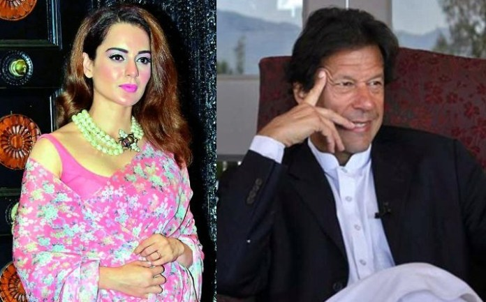 Kangana felicitates Imran Khan on winning election 2018