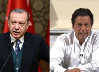 Turkish President Erdogan felicitates Imran Khan