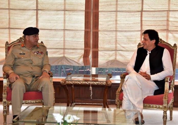 PM Imran and COAS