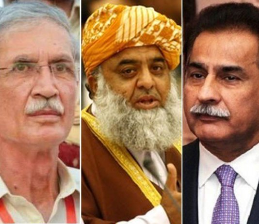 ECP reserves verdict in Sadiq, Khattak, Maulana Fazl foul language case