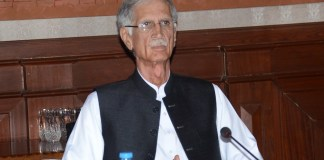 Pervez Khattak assumes charge as Defence Minister