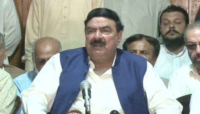 PM Imran Khan not ready to give NRO to plunderers: Sheikh Rasheed