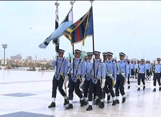 Defence Day: Change of guard ceremonies held at Quaid, Iqbal's mausoleums