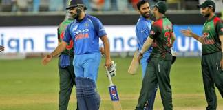 India defeat Bangladesh on last ball to retain Asia Cup