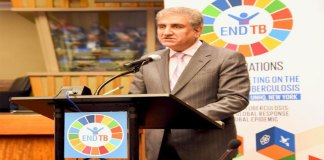 FM reaffirms Pakistan's commitment to root out TB by 2030