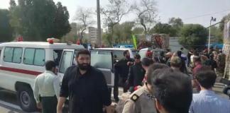 Several killed as gunmen attack military parade in Iran