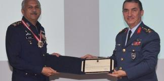 PAF chief honoured with 'Turkish Legion Of Merit' award