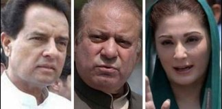 Nawaz, Maryam, Safdar shifted to Adiala Jail after parole ends