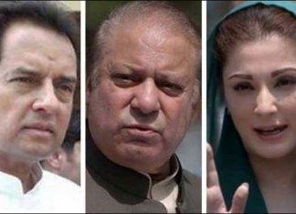 Nawaz, Maryam, Safdar shifted to Adiala Jail after parole ends
