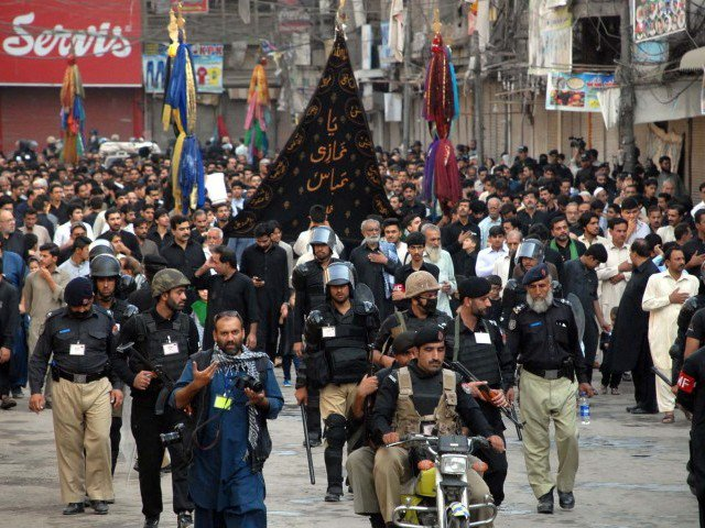 KP police chalk-out security plan for Muharram