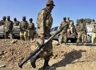 Nine terrorists killed, six soldiers martyred in North Waziristan clash