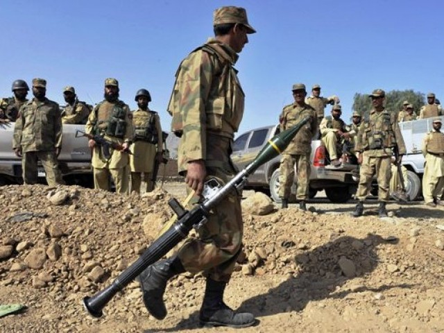 Nine terrorists killed, six soldiers martyred in North Waziristan clash