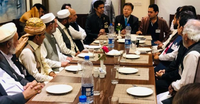 Tribal elders' delegation leaves for China