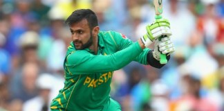 Shoaib Malik to miss the opening T20I against Australia