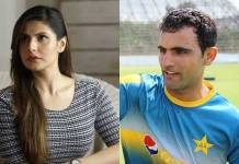Zareen Khan responds to rumours of romance with Fakhar Zaman