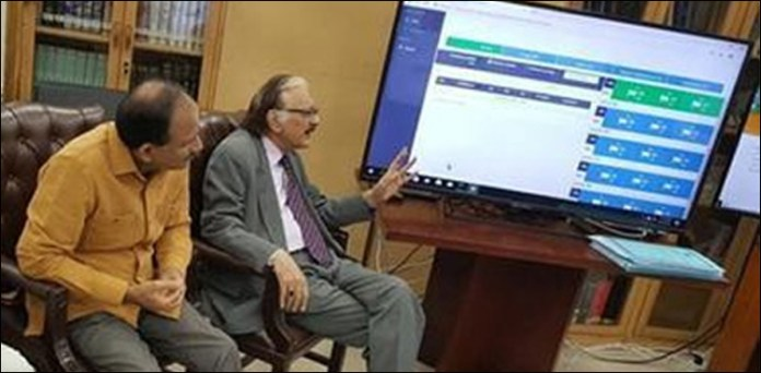 ECP activates RTS to transmit election results