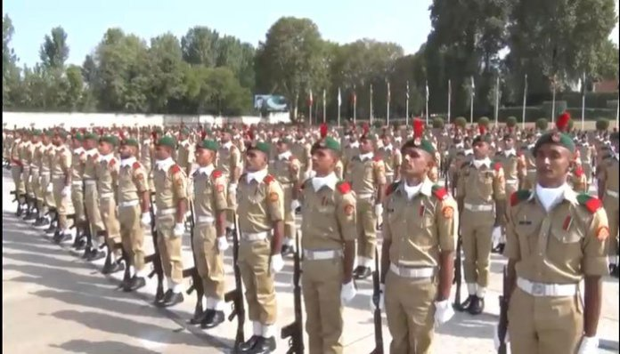 Passing out parade held at Kakul military academy