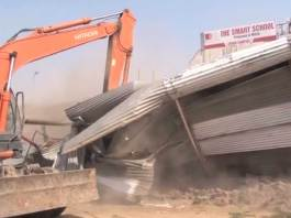 Grand anti-encroachment operation underway